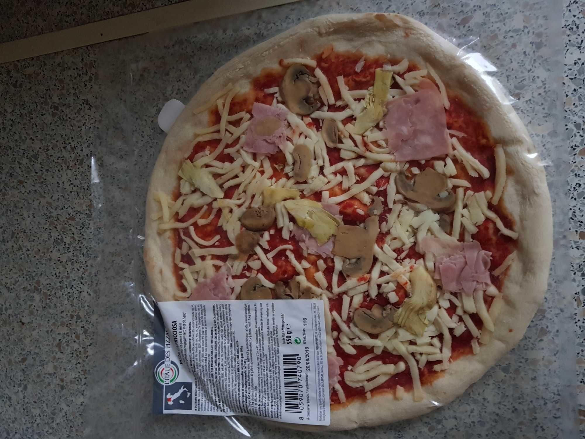 Pizza Capricciosa - Produit - fr