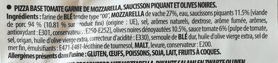 PizzDiavola - Ingrédients - fr