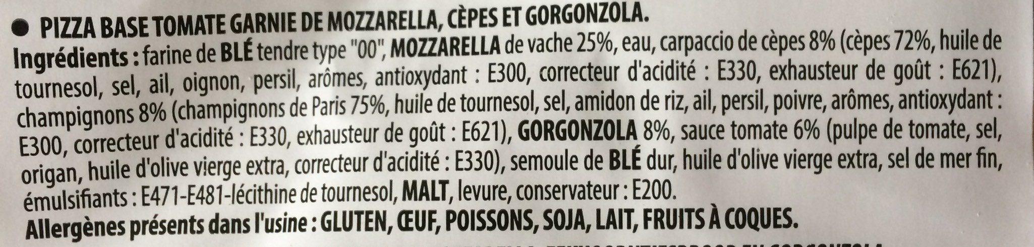 Pizza montanara - Product - fr