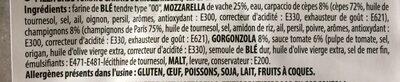 Pizza montanara - Ingrediënten - fr