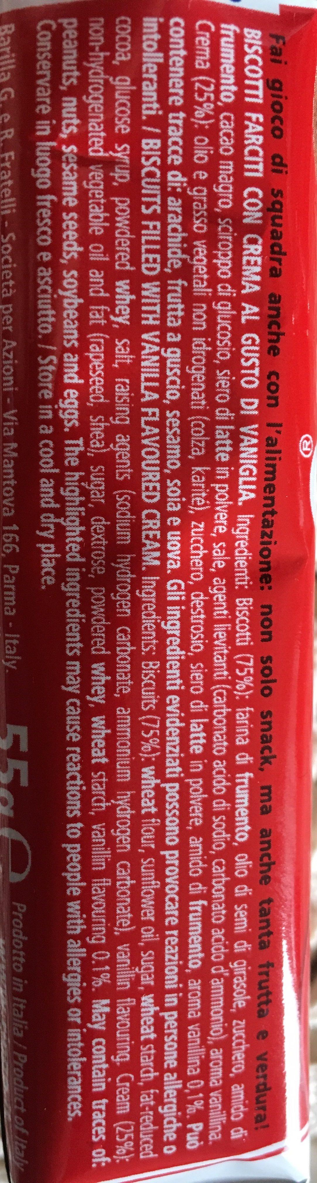 Ringo Vaniglia - Ingredienti