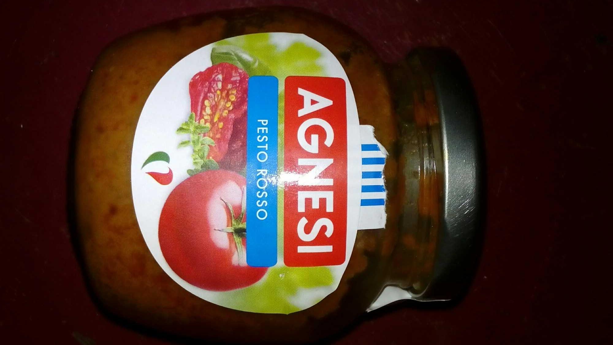 Pesto rosso Agnesi - Produit