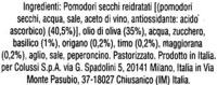 Pesto rosso Agnesi - Ingredients