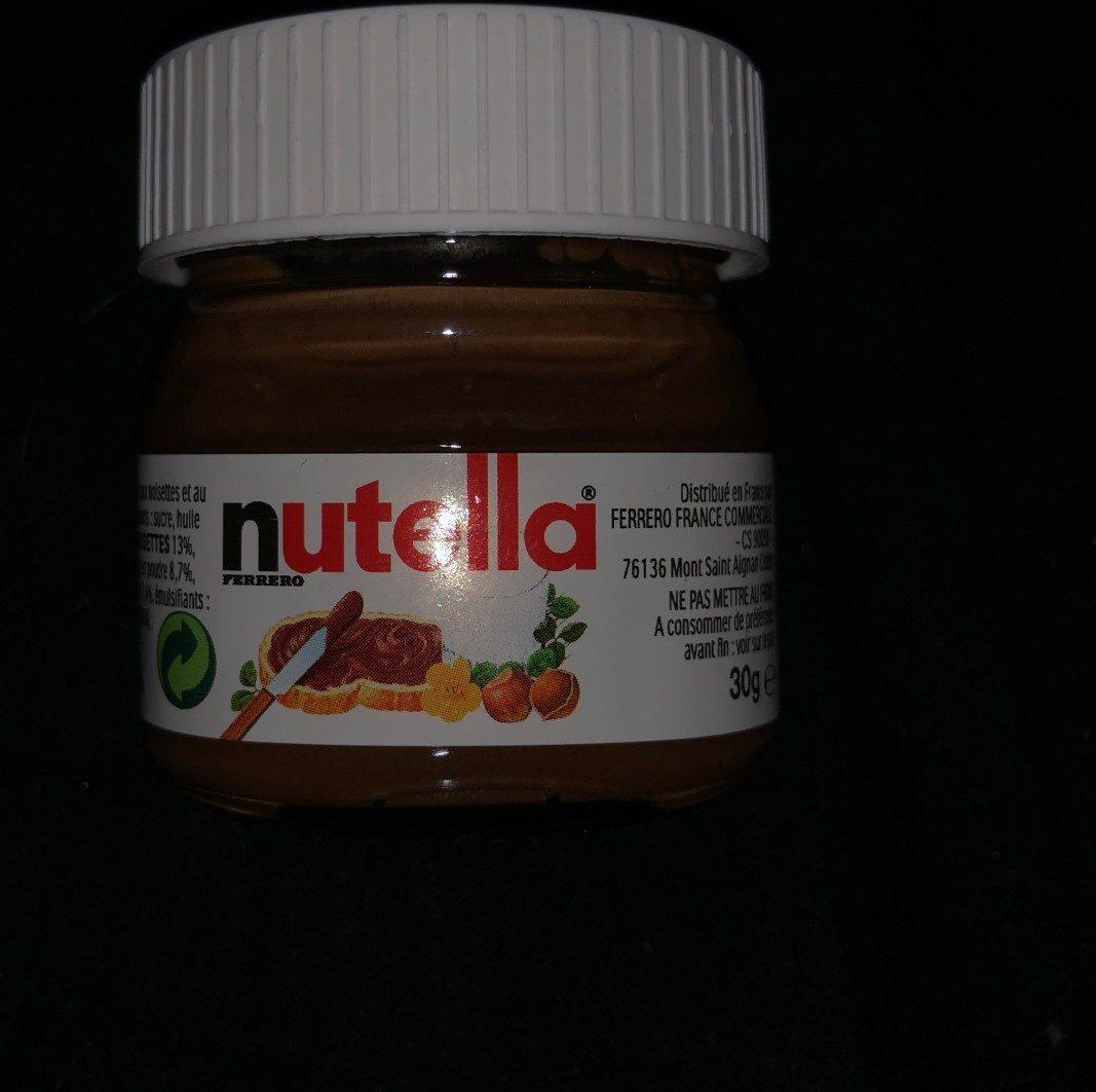 Nutella petit format - Produit - fr