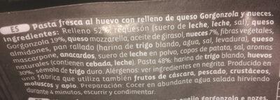 Gourmet Gorgonzola y nueces - Ingrédients - es