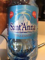 Acqua Sant'Anna Frizzante - Product - fr