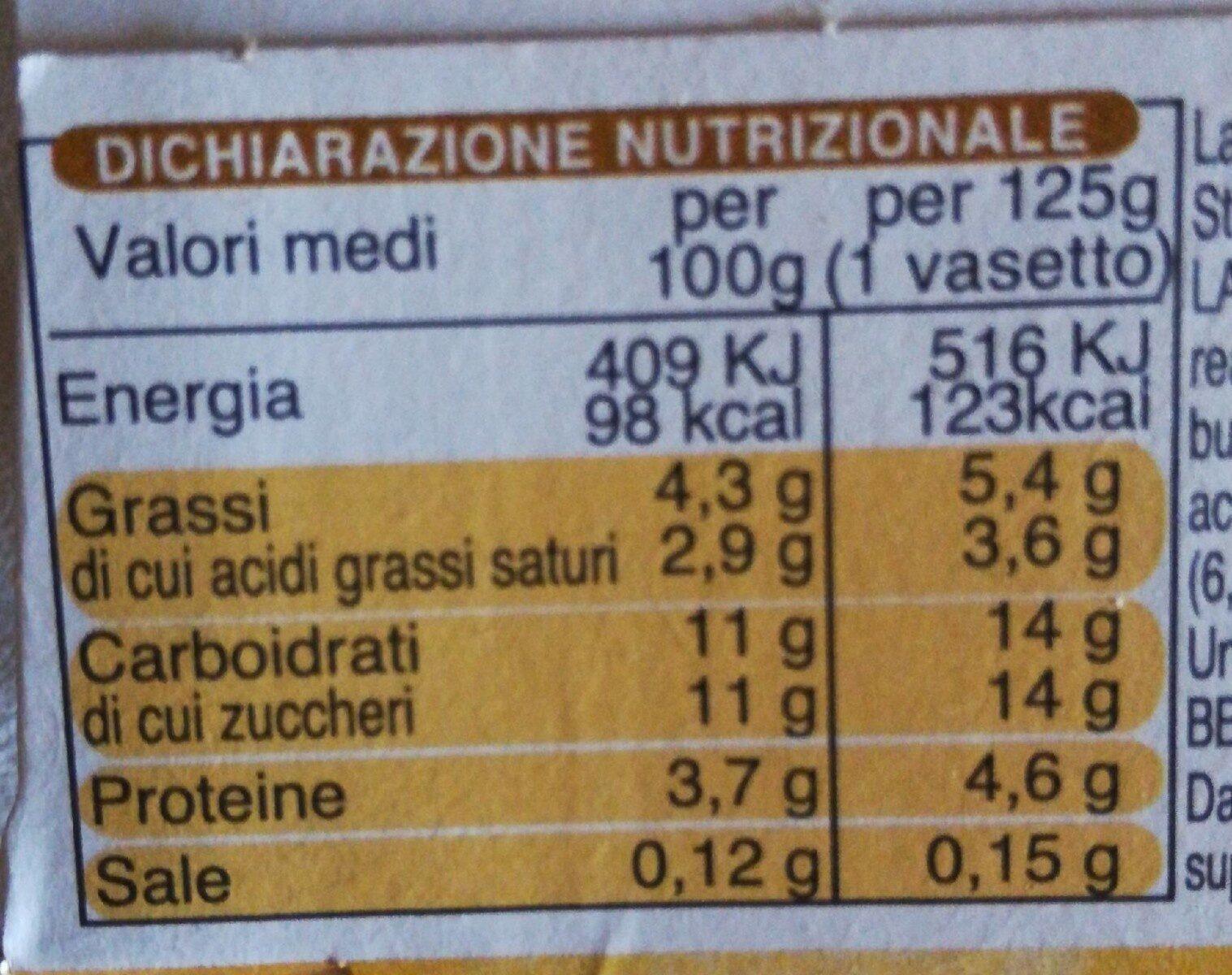 Kyr Yogurt Pappa Reale x - Informations nutritionnelles - it