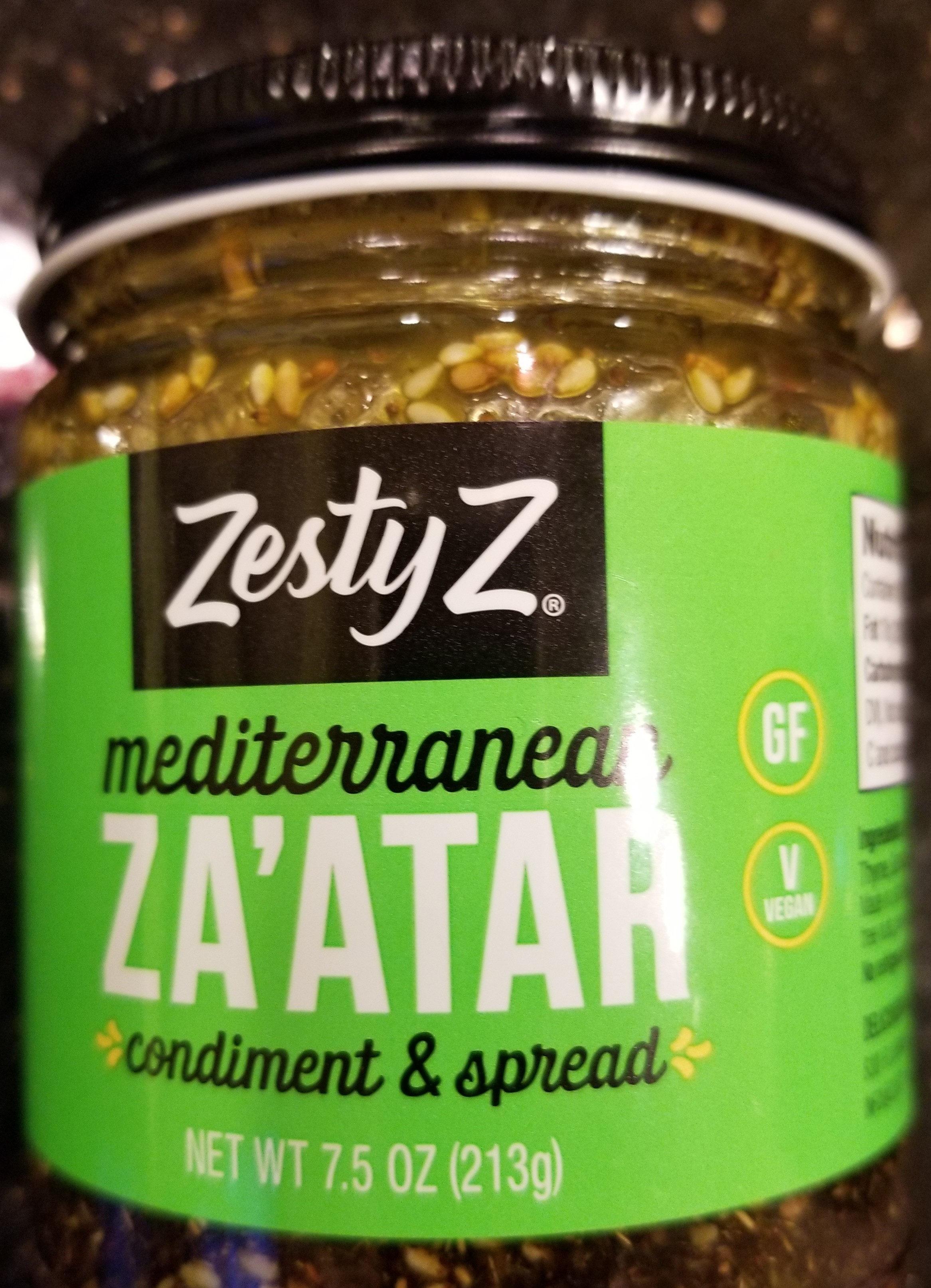 Mediterranean Za'atar - Product - en