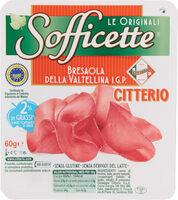 Citterio Sofficette Bresaola Della Valtellina 60g - Prodotto - fr