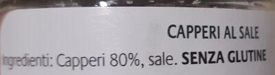 Capperi al Sale Marino - Ingredients - it