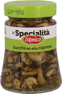 D'amico Zucchine Alla Caprese Vap GR 280 - Product - fr