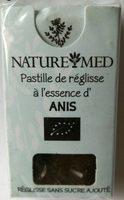 Pastille de réglisse à l'essence d'Anis - Produit