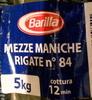 Mezze maniche rigate n°84 - Product