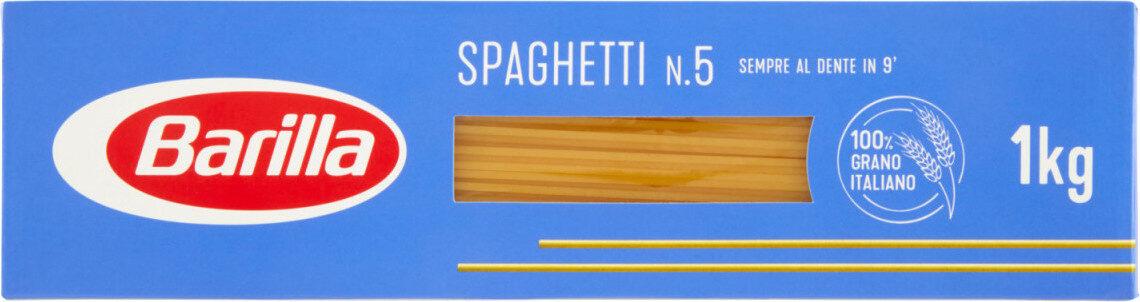 Barilla pates spaghetti n°5 - Prodotto - fr
