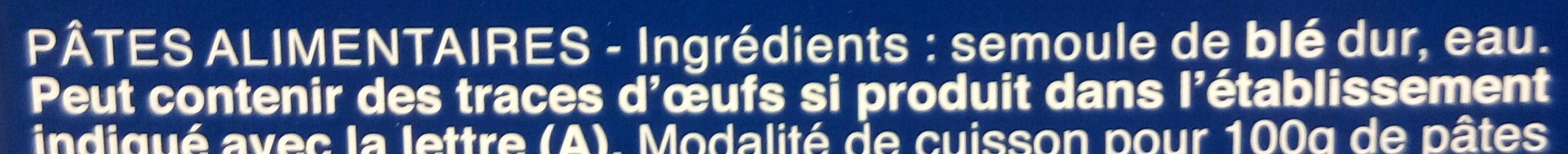 Pâtes Penne Rigate - Ingredienti - fr