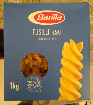 Fusilli n° - Product - it