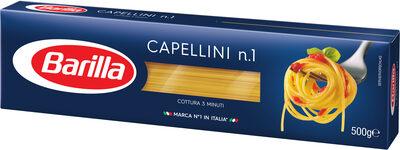Barilla pates capellini n°1 - Produit - fr