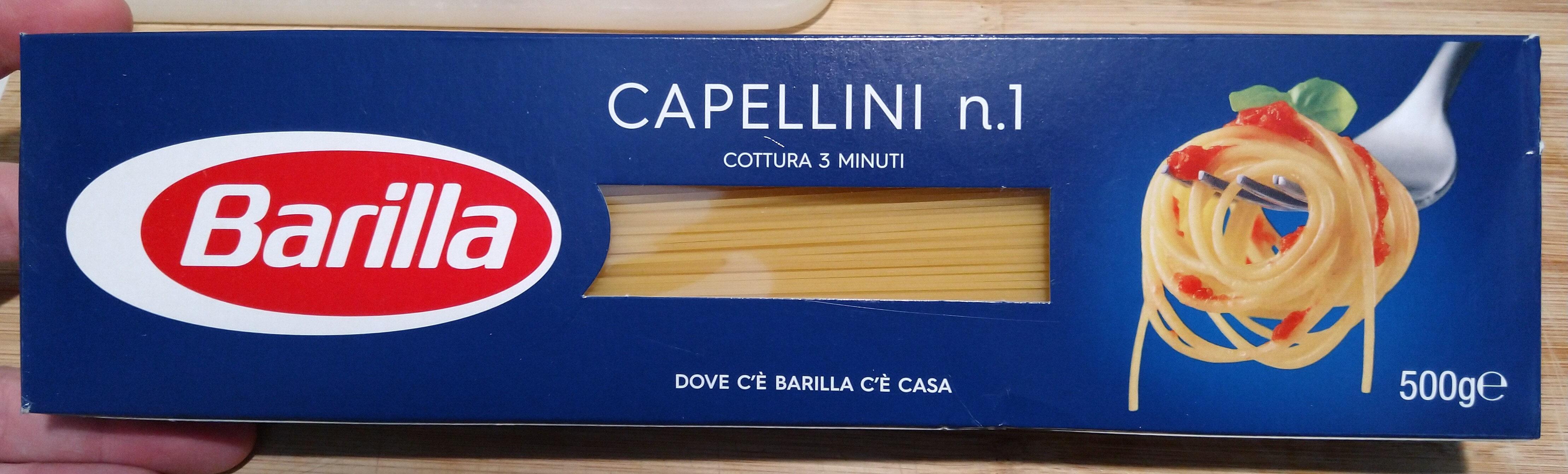 Barilla pates capellini n°1 - Prodotto - it