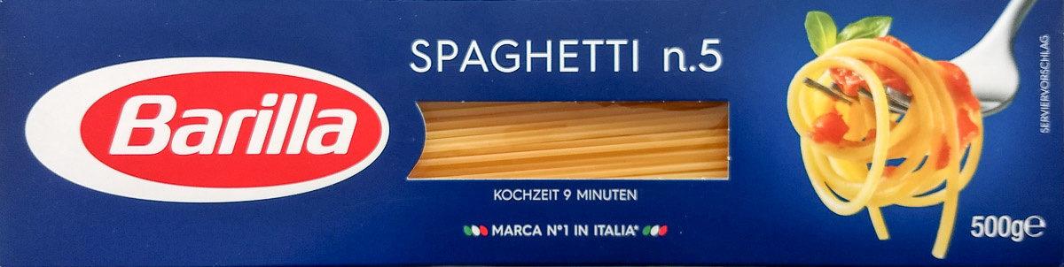 Spaghetti n°5 - Produkt - de