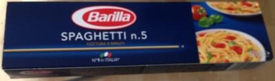 Spaghetti n. 5  Barilla - Produit