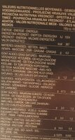 Lasagne all'uovo - Nährwertangaben - it