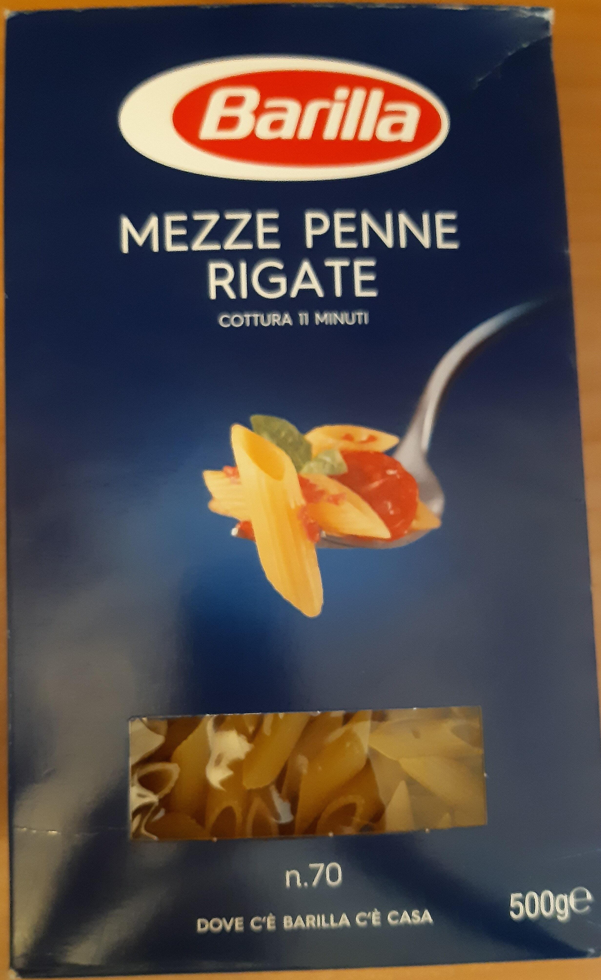 Mezze penne rigate n° - Product - it