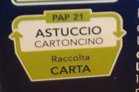 Mezze penne rigate n° - Recyclinginstructies en / of verpakkingsinformatie - it