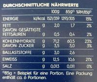 Penne rigate n.73 - Nährwertangaben - de