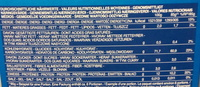 Pâtes Tortiglioni - Voedingswaarden - fr