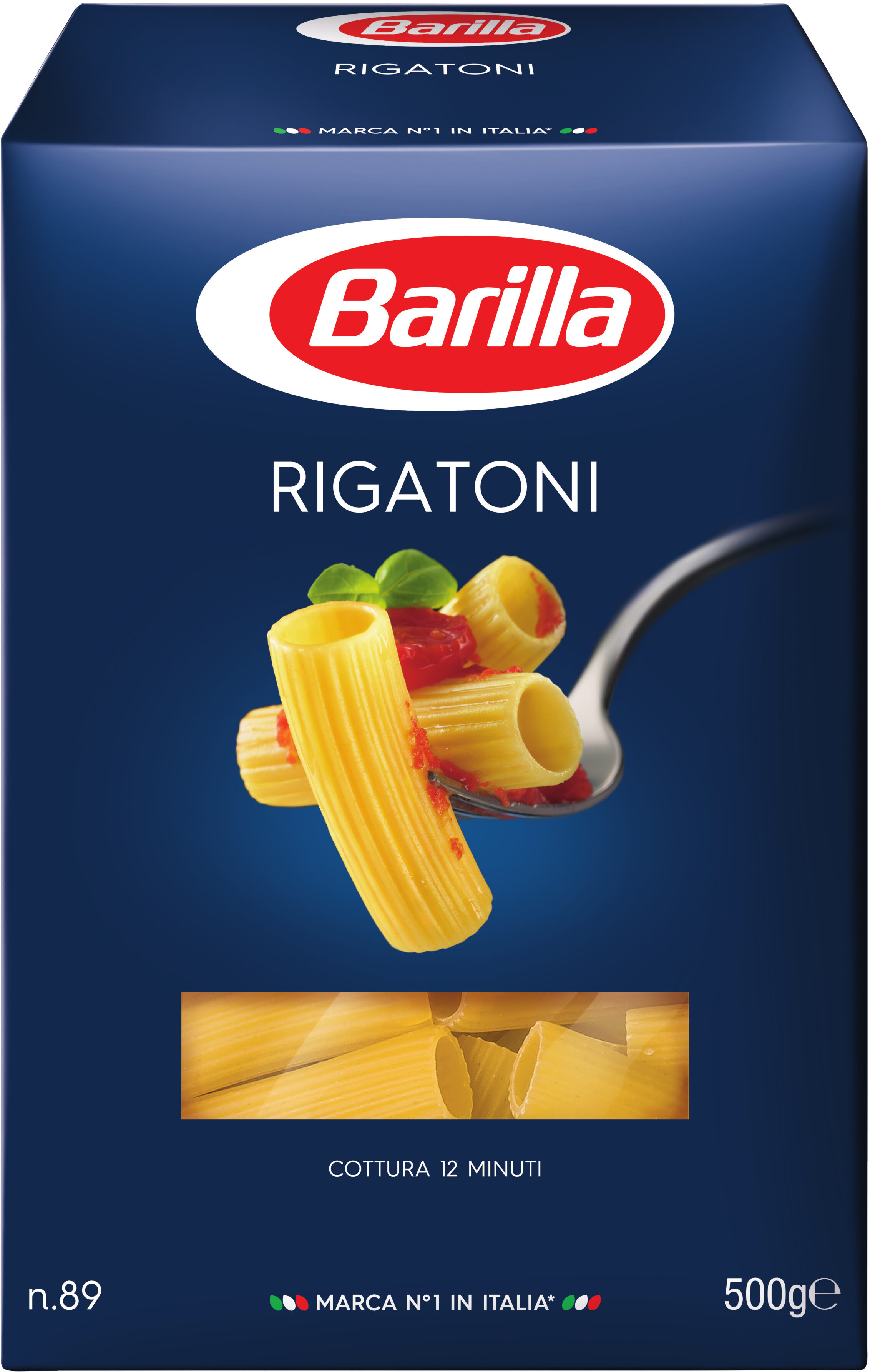 Pâtes Rigatoni - Produit