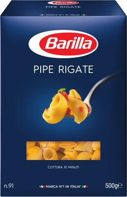 Pâtes Pipe Rigate - Produit - fr