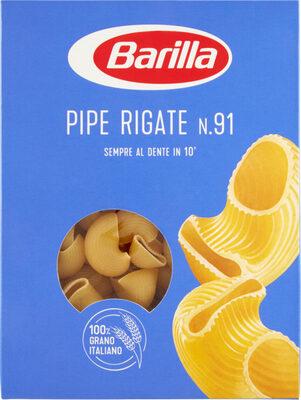 Pâtes Pipe Rigate - Product - fr