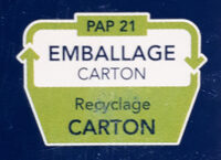 Pâtes Pipe Rigate - Recycling instructions and/or packaging information - fr