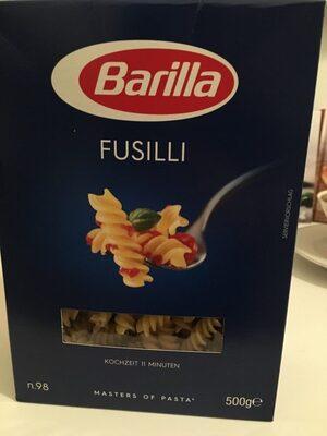 Barilla pates fusilli - Produit - fr