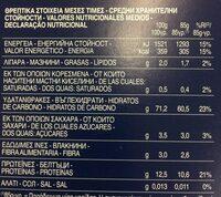 Pâtes Fusilli - Voedigswaarden