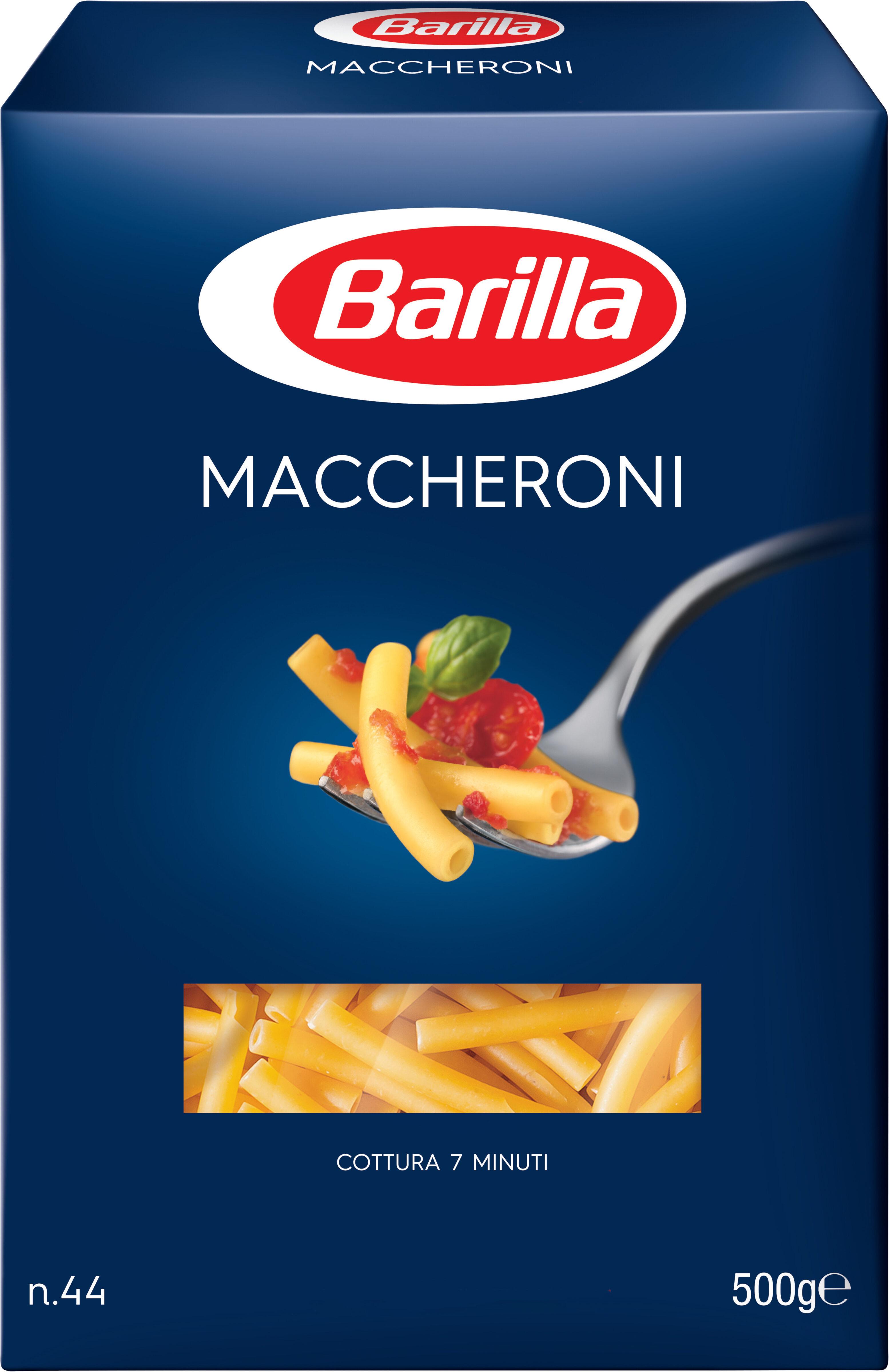 Pâtes Maccheroni - Product - fr