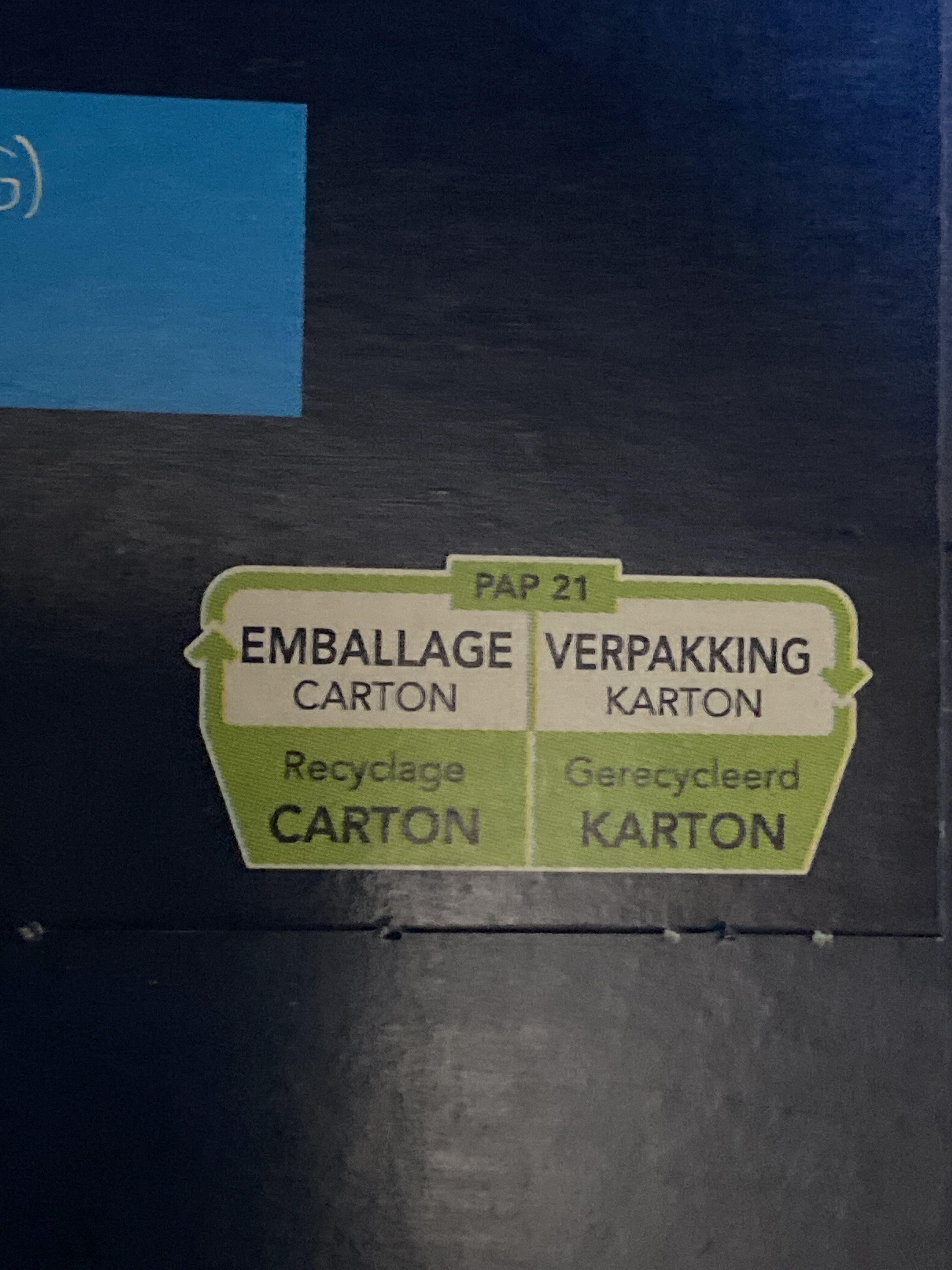 Farfalle - Istruzioni per il riciclaggio e/o informazioni sull'imballaggio - fr