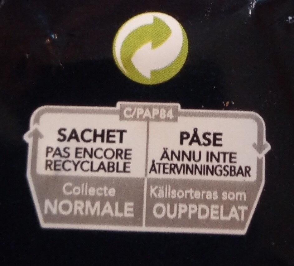 Pâtes Tortellini jambon fromage - Istruzioni per il riciclaggio e/o informazioni sull'imballaggio - fr