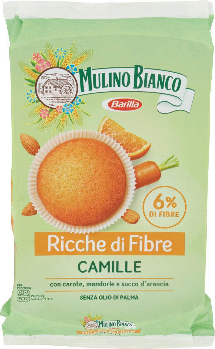 Tortine con carote, mandorle e succo d'arancia - Product - it