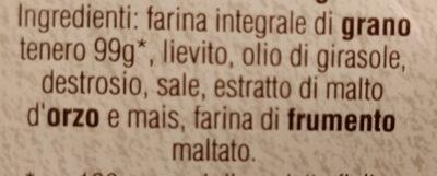 Le integrali - Ingredienti - it