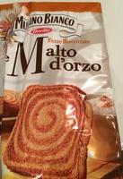 Fette Biscottate al Malto d'Orzo - Prodotto - it