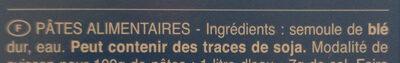 Girandole Torsades n. 34 - Ingrédients - fr