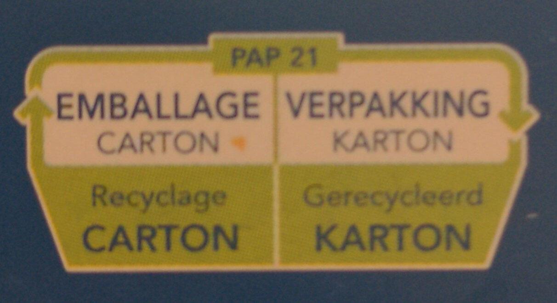 Girandole Torsades n. 34 - Instruction de recyclage et/ou informations d'emballage - fr