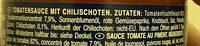 Arrabbiata Tomatensauce - Ingredients - de