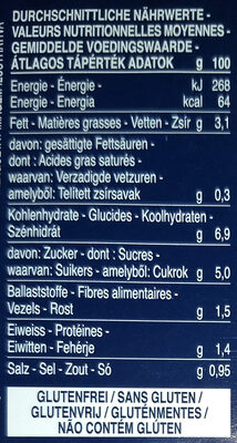 Barilla sauce tomates arrabbiata - Nährwertangaben - de