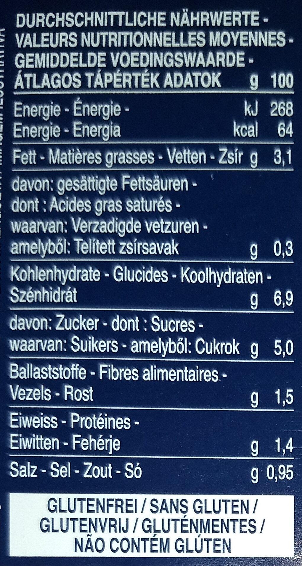 Sauce arrabbiata - Nährwertangaben - de