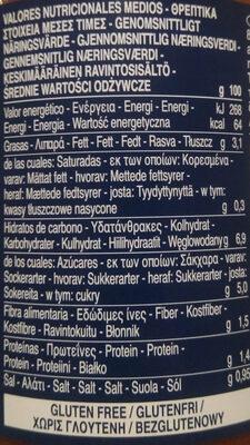 Barilla sauce tomates arrabbiata - Ravintosisältö - fi