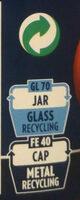 Sauce arrabbiata - Istruzioni per il riciclaggio e/o informazioni sull'imballaggio - fr