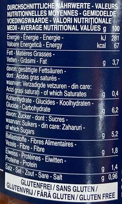 Napoletana - حقائق غذائية - de