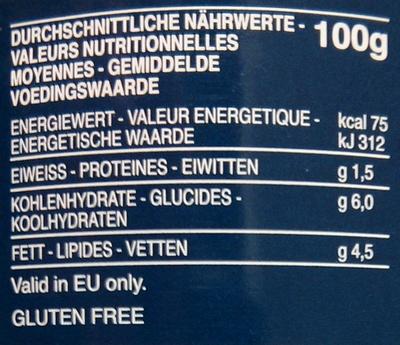 Barilla Olive - Nährwertangaben - de